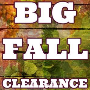 big fall clearance