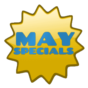 save up to 20% in May