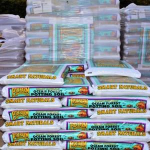 bagged soil on sale