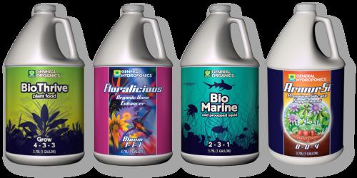 General Hydroponics nutrients 1 gallon