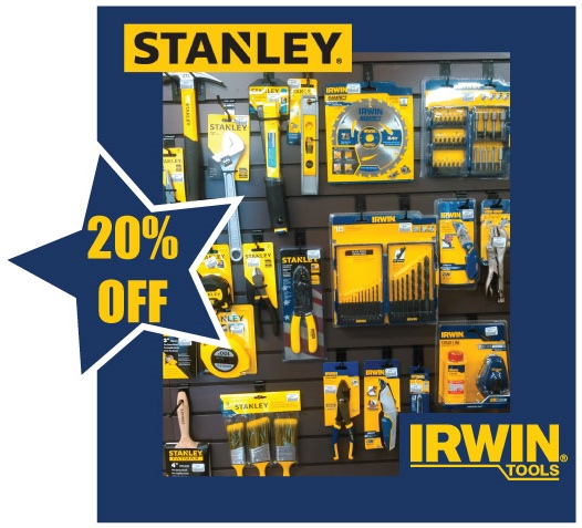 Stanley and Irwin Tools