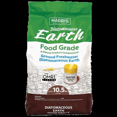 Harris Food Grade Diatomaceous Earth, 10.5lb bag.