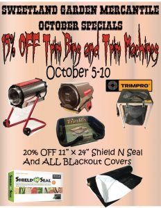 October 2020 Sales Flyer