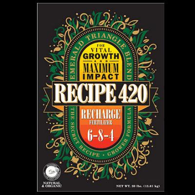 Recipe 420 Recharge fertilizer