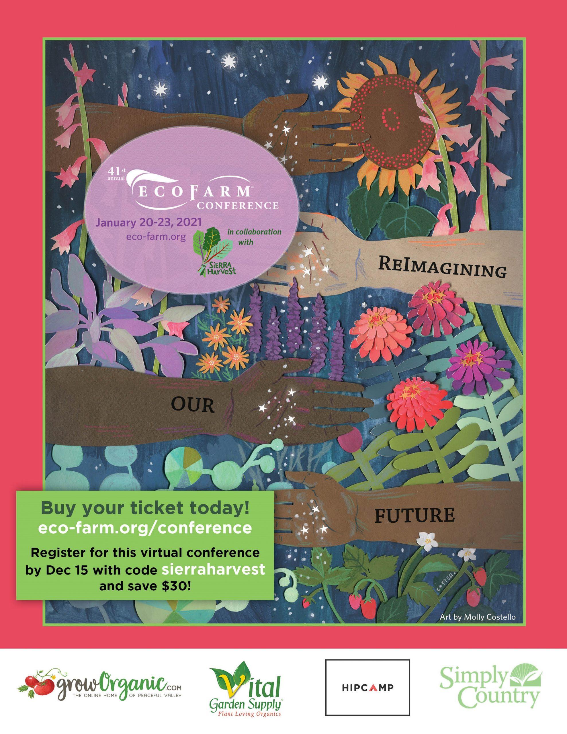 EcoFarm 2021 poster